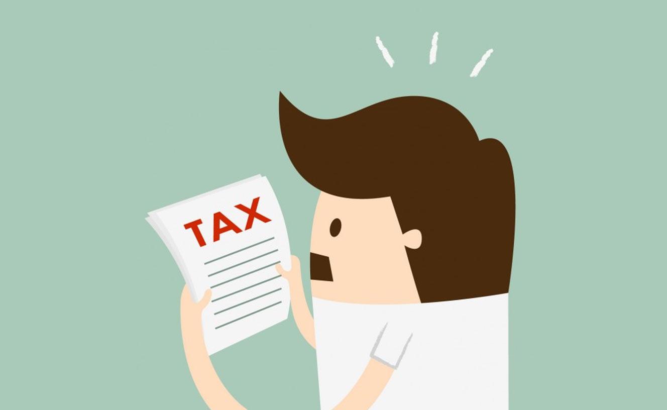 Tax Services Man